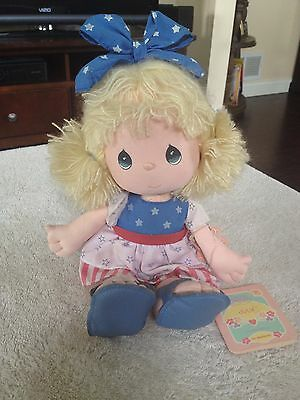 "Vintage Precious Moments doll, ""Julie"" July # 16556"