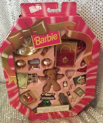 Barbie Special Collection Holiday Presents Gift Set 1998 Mattel 20203 Mint Nrfb