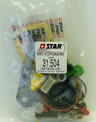 Star Gasket Kit 31.504 (DPA-SPECIAL MECC) 7135-110 S for CAV Injector Pump NEW ^