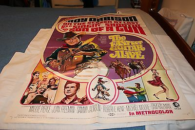 FASTEST GUITAR ALIVE-Original 1 Sheet Movie Poster with Roy Orbison