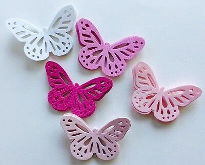40 Butterfly Die Cut Confetti Scrapbook Cut Outs-Butterfly Mobile