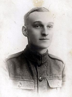 WW1 WWI BEF British soldier of unknown regiment