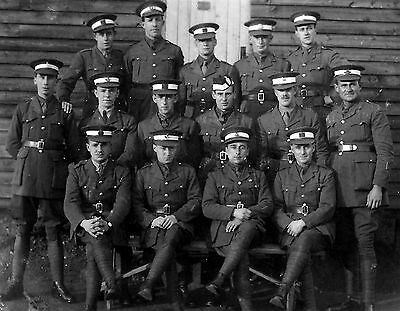 WW1 WWI BEF officer cadets at Newmarket - 13th course ?