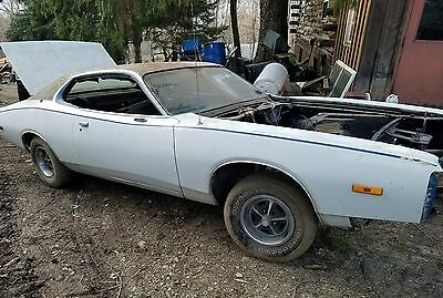 1973 Dodge Charger  1973 Dodge Charger 400 magnum numbers matching