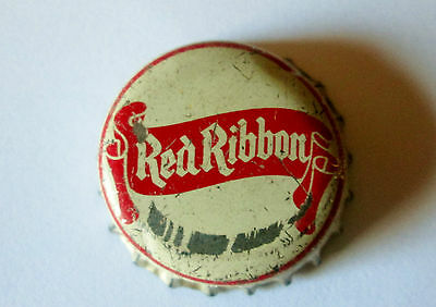 Canada Saskatoon Brewing Co Red Ribbon Beer Bottle Cap Cork Lined