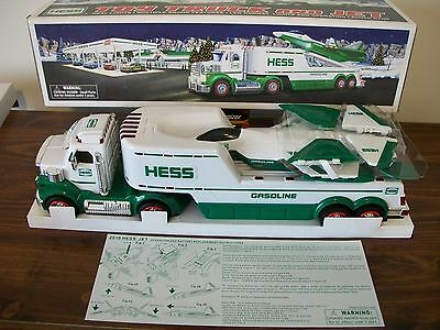 Hess 2010 Toy Truck And Jet Mint In The Box