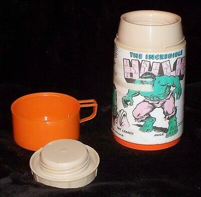 Vintage 1978 The Incredible Hulk Thermos