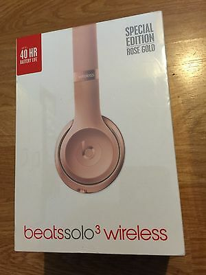 Beats by Dr. Dre Solo3 Wireless Special Edition Rose Gold