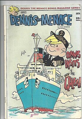 Dennis The Menace Bonus Magazine  (1976) #128