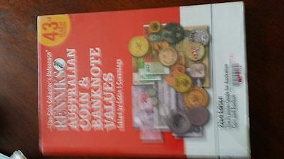 Renniks 22nd Edition Australian Coin and Banknote Values paperback