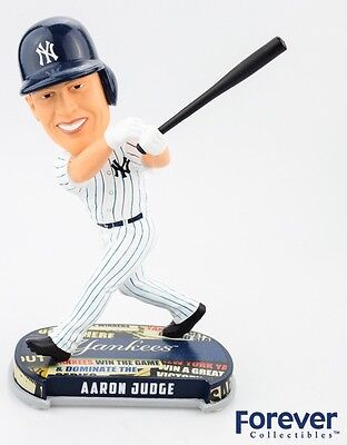 AARON JUDGE New York Yankees EXCLUSIVE Headlines Bobblehead #/2,017 NIB