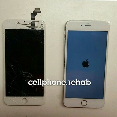 Apple iPhone 6s plus LCD and Digitizer Full  Damaged Cracked Screen Repair