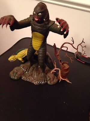 Vintage 1963 Aurora Creature From The Black Lagoon Monster Model Built-Up Kit