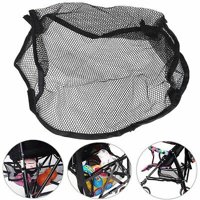 Safety Hanging Organizer Net Stroller  Storage Bag Bottom Basket Mesh Bag
