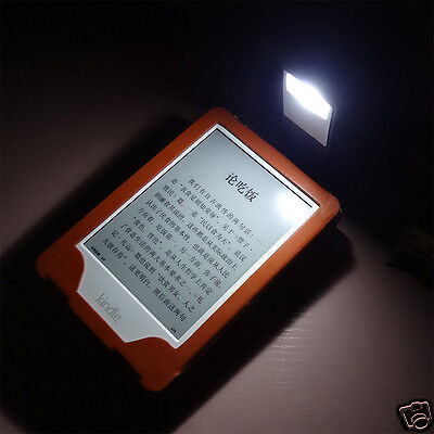 Rechargeable Lamp Slim Flexible LED Reading Light Stand Clip On Books Bed Desk