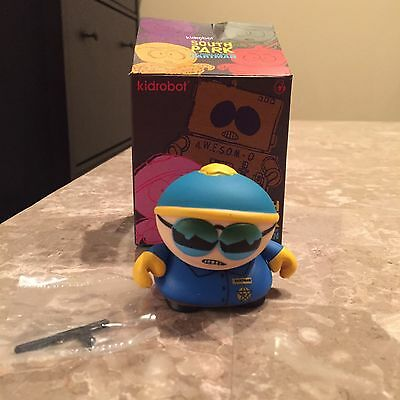 South Park Kidrobot - Many Faces Of Cartman Cop: Respect My Authority