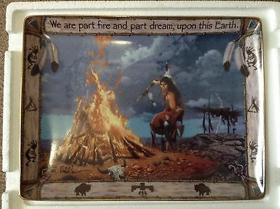 Franklin Mint American Indian Heritage Foundation collectors plate.