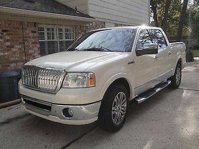 2007 Lincoln Mark Series loaded from factory Lincoln Mark LT Pickup    Pearl White 2 WD gas great shape no accidents.