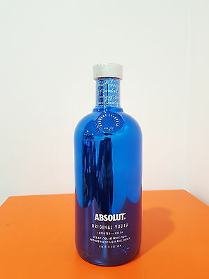 Absolut Vodka Electrik Limited Edition Blue 700mL 40 % abv