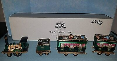 """Department 56 Heritage Village """"The Flying Scot Train""""  #5573-5"""