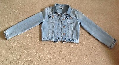 Girls Size 14 Denim Jacket - A Must See