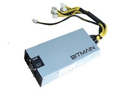 AntMiner APW3-12-1600 PSU 1600W Power Supply In Stock US Stock with Power Cord