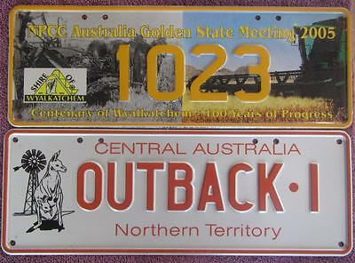 Souvenir License Number Plates