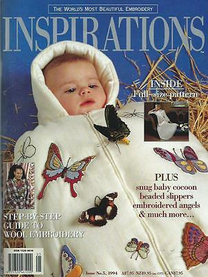 Inspirations Embroidery Magazine - Issue No.5, 1994