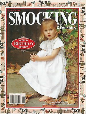 Australian Smocking and Embroidery - Issue No.29, Winter 1994