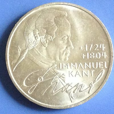 1974 D Germany Silver 5 Mark Coin