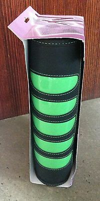 New with Packaging MTV 96 CD Wallet Holder Zip Case Box - Black with Green Trim