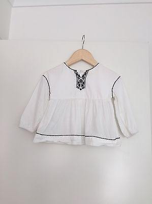Country Road Baby Smock Top