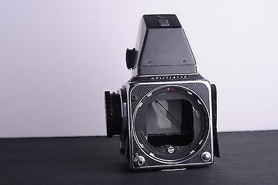 Hasselblad 500 C camera body with metered prism for parts/repair