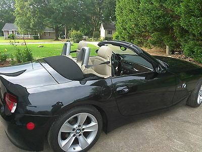 2007 BLK BMW Z4 Convert. Roadster 36,491 MLS Exc.Con.Loaded, Cashiers Ck ONLY