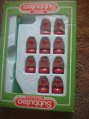Boxed Subbuteo 63000 Lightweight LW Team Liverpool - Reference: 619 L3