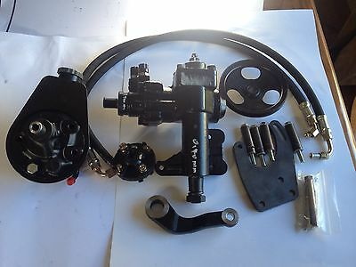 1964-70 Mustang Power Steering Box Kit suit  LHD
