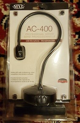 MXL AC-400 Professional Series Wired USB Microphone *In Box*