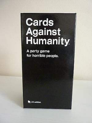 Cards Against Humanity: UK Edition - New & Sealed