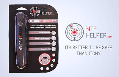 Bite Helper - the Bug Bite Neutralizer! Drug-Free Itch Eraser, Itch Reliever