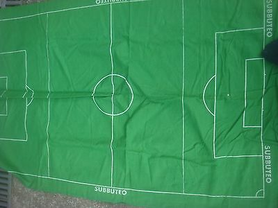 Vintage Subbuteo Football Accessories Pitch - Cloth