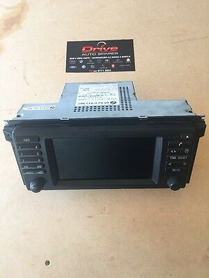 Bmw E53 X5 2004 2006 Navagation Wide Screen 65526913387