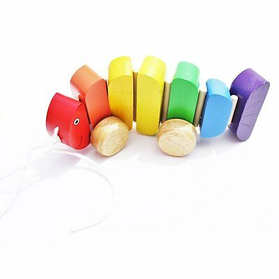 Shumee Rainbow Fish - Wooden Pull Along Fun Toys for Kids and Toddlers …