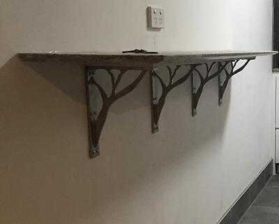 Heavy Duty Granite Benchtop Brackets/Iron Corbels Stainless Decorative Tree