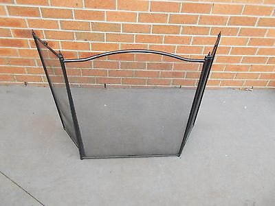 Fire Place Screen Safety Protection Screen Brand New