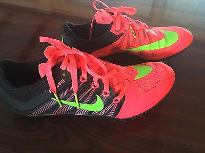 Nike Running Spikes Zoom JA Fly2 Size US 5 Excellent Condition
