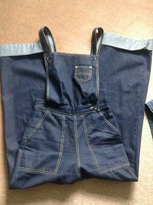 freddies of pinewood Dungarees Size 8 - 26 Inch Waist Vintage 50's 40's