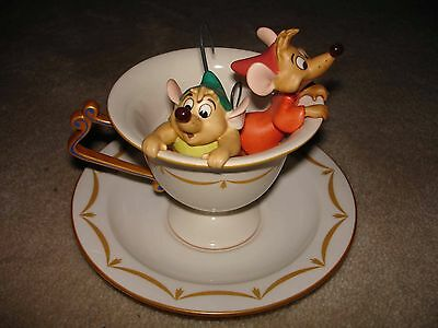 "WDCC Walt Disney Classics Collection: Cinderella ""Tea for Two"" im Top Zustand"