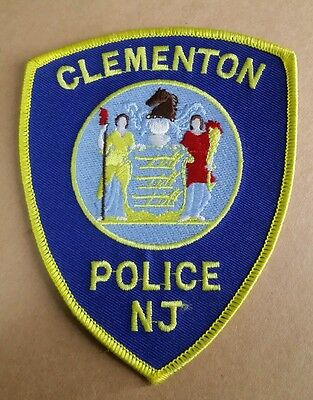 Clementon, New Jersey Police Shoulder Patch Nj