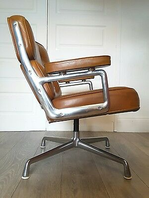 Eames Time Life Chair - Original Herman Miller Mid Century Modern Leather Chair