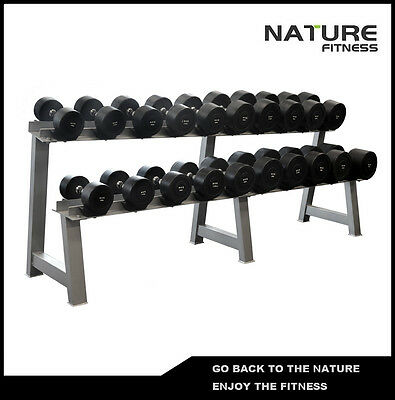 Two Layers Dumbbell Rack